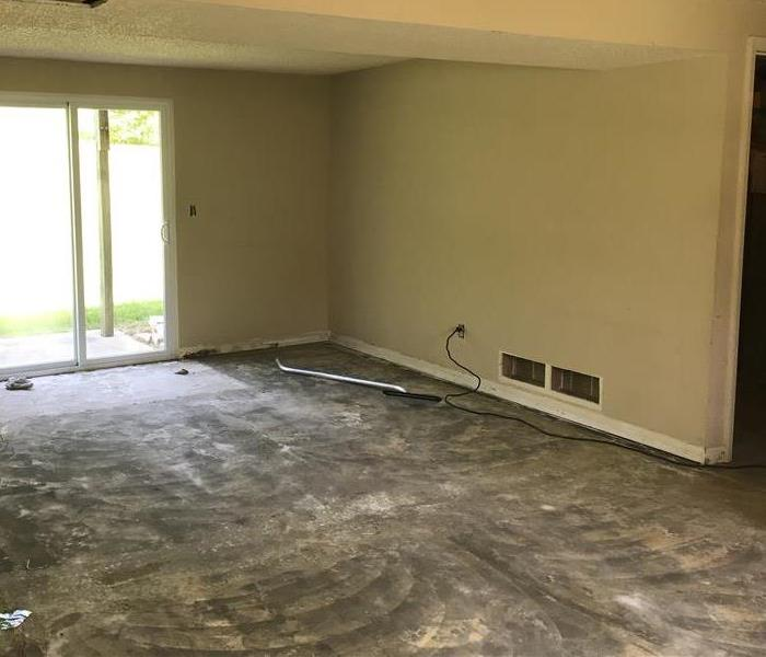 Water damage in Weldon Spring home After