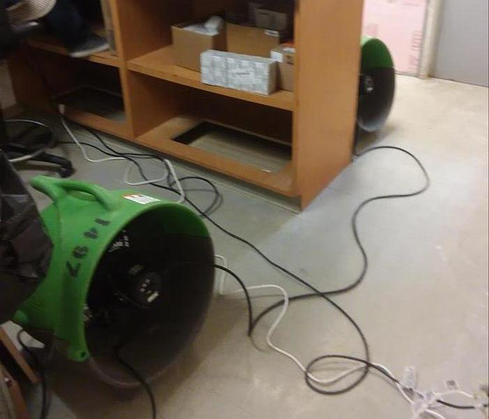 Can SERVPRO of St. Charles City help my flooded business? Before