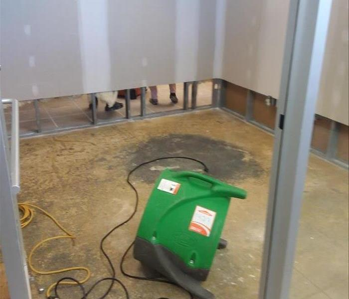 SERVPRO in St. Peters is quick to handle any water loss